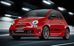 Picture Red, The tunnel, The front, Abarth, 595