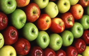Picture apples, fruit, food