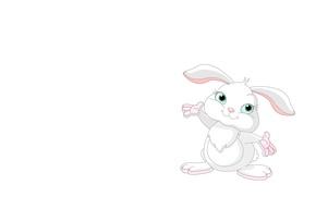 Picture mood, art, Bunny, children's