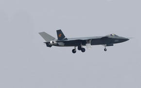 Picture photo, prototype, the plane, chassis, Chengdu J-20