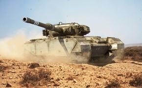 Picture sand, weapons, desert, Game, game, Tank, desert, weapon, world of tanks, sand, tank, centurion, World …