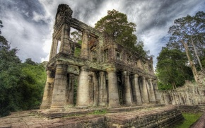 Picture forest, The building, ruins