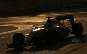 Picture Renault, Twilight, Sport, Magnussen, F1, 20