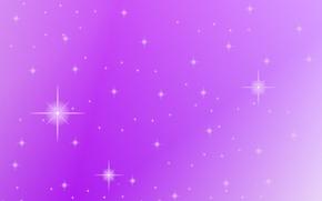 Picture purple, background, lilac, purple, stars