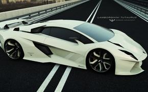 Picture car, Concept, Lamborghini, super, Tutaurus