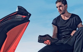 Picture photoshoot, brand, Kit Harington, Jimmy Choo