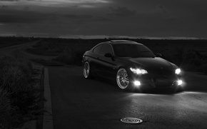 Picture tuning, black and white, bmw 335i
