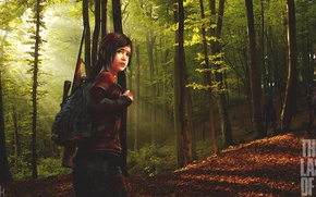 Picture Ellie, Zombies, The last of us