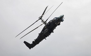 Picture helicopter, Alligator, ka-52, the Russian air force, Hokum B