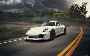 Picture white, 911, Porsche, white, Porsche, Carrera, Evano Gucciardo