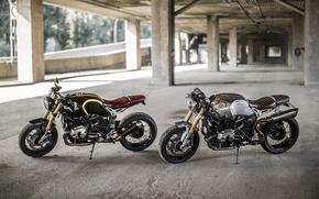 Picture BMW, moto, motorcycle, custom, motorrad, nineT