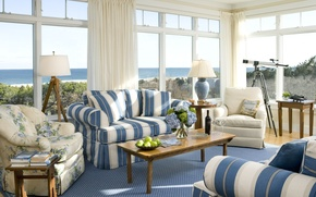 Picture design, house, style, room, Villa, interior, cottage