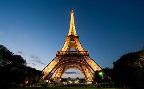 Picture France, Paris, Eiffel Tower