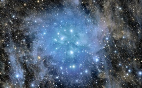 Picture accumulation, The Pleiades, M45