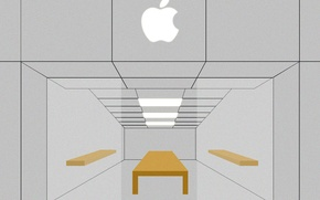 Picture vector, apple, minimal, apple store, store