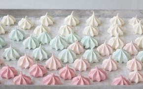 Picture a lot, sweet, color, meringue, meringue