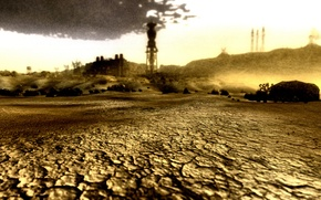 Picture Fallout, Fallout New Vegas, post apocalypse