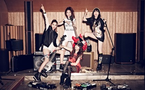 Picture music, girls, guitar, Asian girls, Studio, South Korea, singer, Girls Day, K-pop