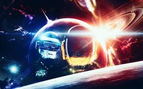 Picture Music, Space, Art, Space, Art, Music, Daft Punk, Daft Punk