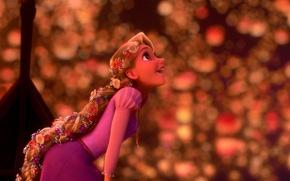 Picture dream, Rapunzel, lanterns, Rapunzel: a Tangled tale