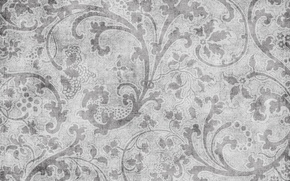 Picture pattern, texture, black and white, vintage