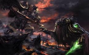 Picture magic, orcs, creatures