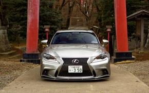 Picture Lexus, wheels, tuning, front, vossen, IS 350