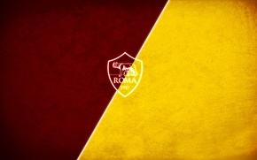 Picture wallpaper, sport, logo, football, AS Roma