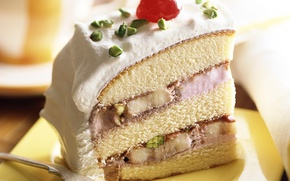 Picture food, cake, cherry