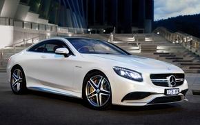 Picture Mercedes-Benz, Mercedes, AMG, Coupe, AMG, S 63, AU-spec, 2015, C217