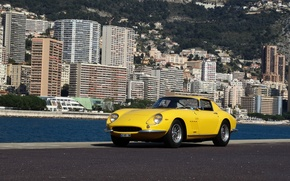 Picture Ferrari, GTB, Yellow, 275