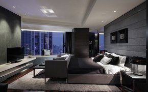 Picture design, style, room, interior, megapolis, bedroom