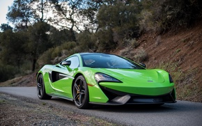 Picture Green, Road, Mclaren, 570s
