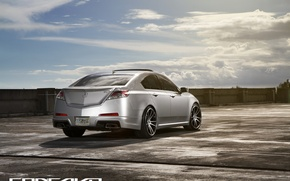 Picture the sky, clouds, Wheels, feed, Acura TL, Concave, CW-S5, Concave