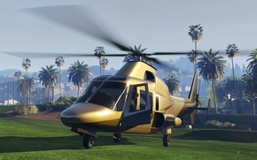 Picture helicopter, Rockstar Games, gta v, Gta 5, dls, Ill Gotten Gains, Grand theft auto Online, ...