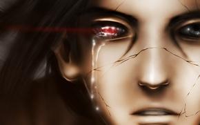 Picture face, anime, tears, art, naruto, guy, naruto, uchiha itachi, chekoaguilar