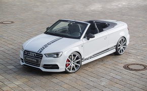 Picture Audi, area, drives, Cabriolet