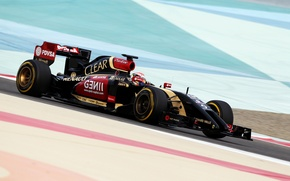 Picture Formula 1, Lotus F1 team, E22, Pastor Maldonado