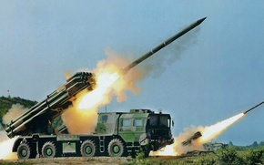 Picture Army, Missiles, Russia, Tornado, System, MLRS, Exercises, Shells, Jet, Volley, Fire