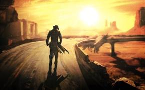 Picture Fallout, Fallout New Vegas, post apocalypse