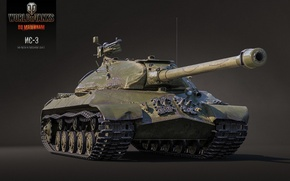Picture BigWorld, WoT, IS-3, World of tanks, tanks, render, Wargaming.Net, Is-3, World of Tanks, tanks, tank, ...