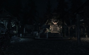 Picture Night, Skyrim, The elder scrolls, Whiterun