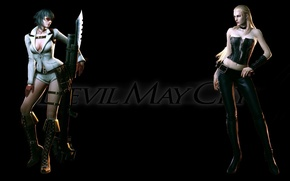 Picture lady, dmc, lady, devil may cry 4