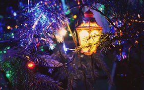 Picture toys, tinsel, year, New