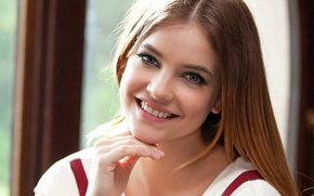 Picture look, girl, smile, looks, Barbara Palvin