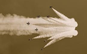 Picture aviation, background, widescreen, Wallpaper, aircraft, wallpaper, flight, Airshow, aircraft, widescreen, flight, background, aviation, full screen, …
