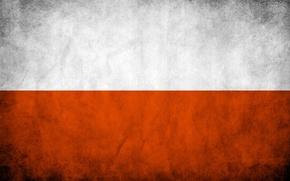 Picture flag, Poland, Poland, Russia