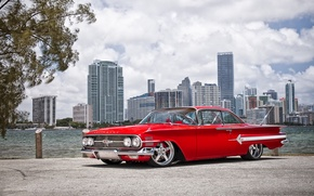Picture machine, auto, Chevrolet, 1960, Car, Impala, Wheels Boutique & HRE Wheels