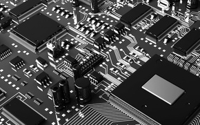 Wallpaper chip, chip, fee, processor