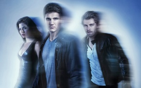 Picture the series, Peyton List, The people of the future, The Tomorrow People, Robbie Amell, Luke …